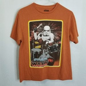 Star Wars Storm Trooper Rocking Out Tshirt